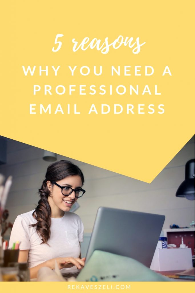 branded professional email address