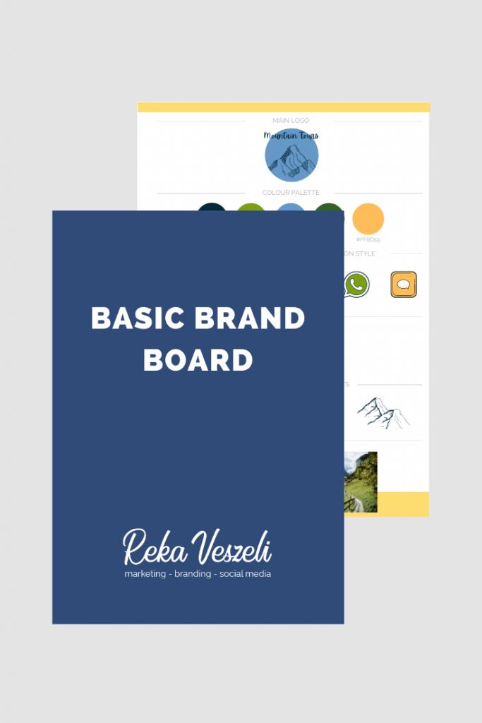 brand board, downloadable, free brand board, template