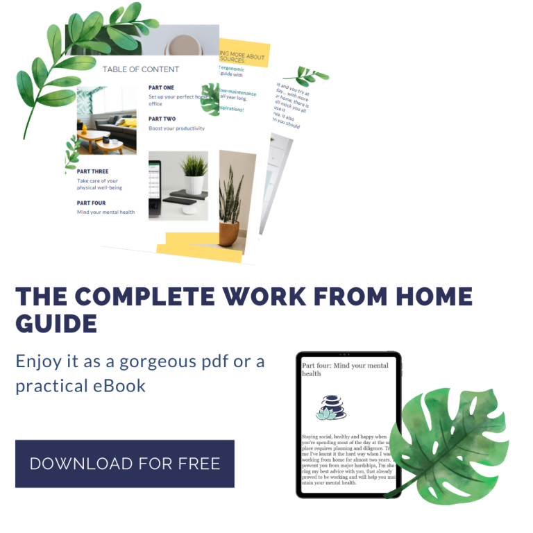 WFH, remote working, eguide, ebook, Kindle